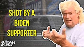 Maryland Biden Supporter Allegedly SHOOTS At Trump Supporter's Truck
