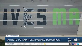 Artists to paint BLM murals Saturday