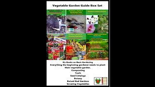 Vegetable Garden Guide Box Set