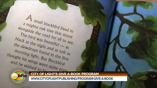 City of Light Publishing Give a Book drive