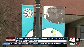 New COVID-19 patient associated with JCCC