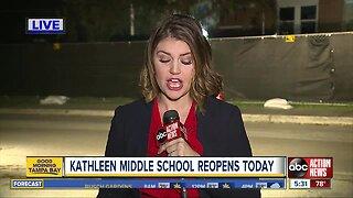 Kathleen Middle School reopens after tornado damages school