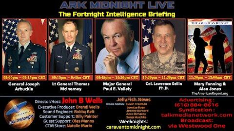 The Fortnight Intelligence Briefing - John B Wells Live