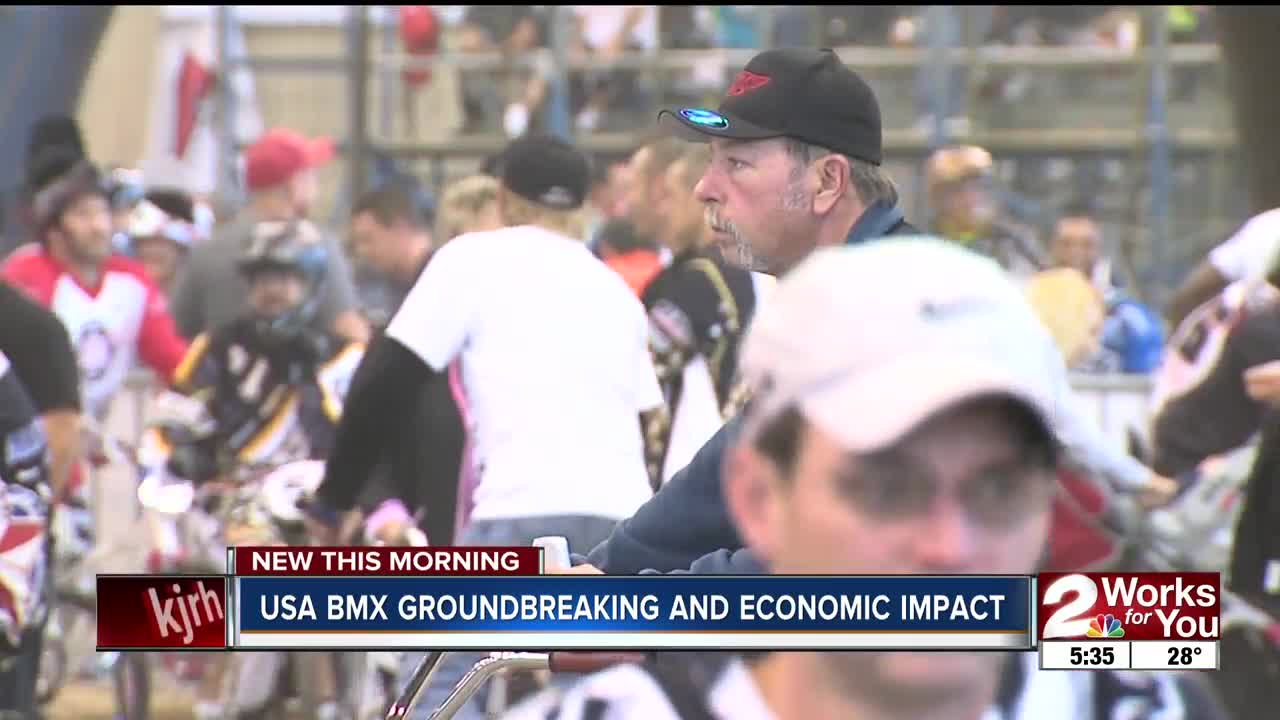 USA BMX groundbreaking and economic impact