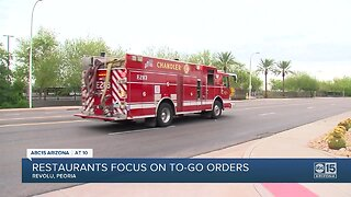 First responders and restaurant workers can't work from home