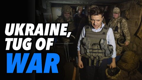 Ukraine, stuck in the middle of a Geopolitical game (Live)