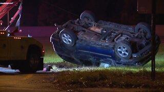 Akron Route 8 fatal crash