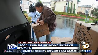 Oceanside farmer delivers fresh produce to customers during COVID-19 outbreak