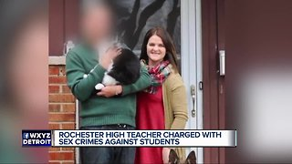 Rochester high teacher charged with sexual assault; allegedly had sexual relationship with students