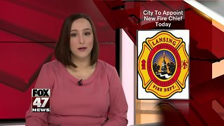 Lansing mayor to appoint new fire chief