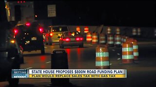 State house proposes $800M road funding plan