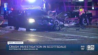 Several injured in Scottsdale crash