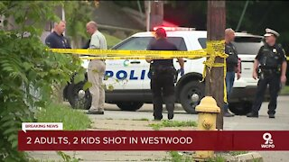 CPD: 2 children critical after quadruple shooting in Westwood