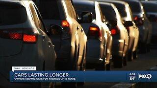Owners keeping cars longer