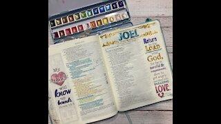 Bible Journaling Joel 2:13