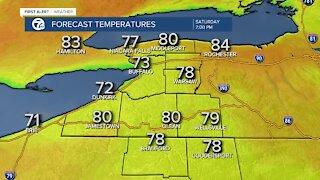 7 First Alert Forecast 12 p.m. Update, Friday, June 4