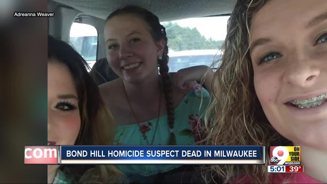 Police: Suspect kills himself in Milwaukee following Cincinnati homicide