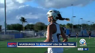 Caitlyn Wurzburger to compete at World Lacrosse 19U Championships 6/18