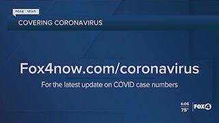 Coronavirus numbers and vaccine update