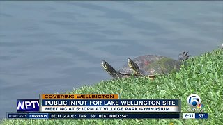 Residents can weigh in on Lake Wellington development