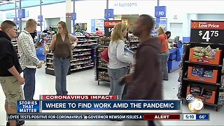 Where to find work in San Diego amid COVID-19 pandemic