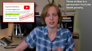 YouTube Gets Vindictive with Sarah