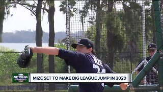 Casey Mize talks one-on-one with Brad Galli about working to make Tigers roster