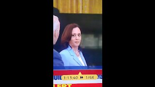 Joey answers question about Kamala going to border.