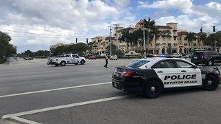 Police officer struck by vehicle in Boynton Beach