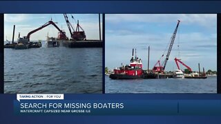 Police searching for missing boater, priest after accident on Detroit River