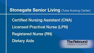 Who's Hiring: Stonegate Senior Living