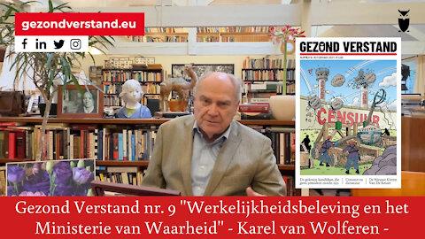 Karel van Wolferen leest voor uit Gezond Verstand nr. 9