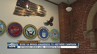 FINDING HOPE: Boise VA recognizes Suicide Prevention Month with #BeThere campaign
