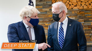 """""""New Atlantic Charter"""" for World Order Signed by Deep State Biden"""