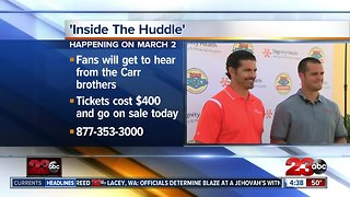 Carr brothers hosting event to benefit Valley Children's Hospital