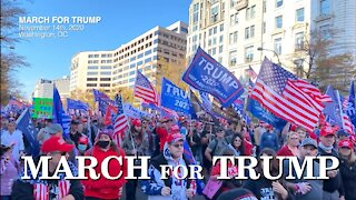 March for Trump Integrated Edition