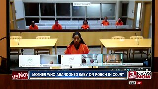 Mother Who Abandoned Baby on Porch in Court