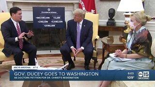 Governor Doug Ducey goes to Washington