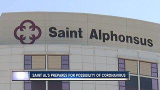 Saint Alphonsus prepares in case of Coronavirus