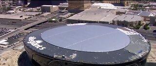 Allegiant Stadium site to test workers