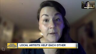 Local artists helping each other out