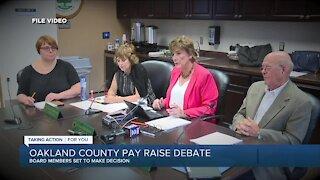 Oakland County pay raise debate