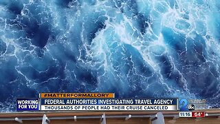 Federal authorities investigating cruise travel agency