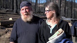 Denver7 Gives donates supplies to family who lost home in Cameron Peak Fire