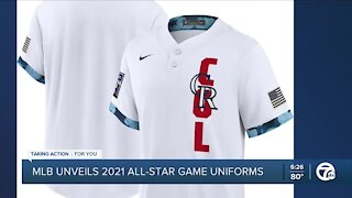 MLB unveils 2021 All-Star Game uniforms