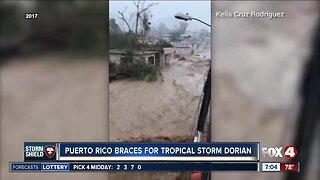 Puerto Rico prepares for Tropical Storm Dorian