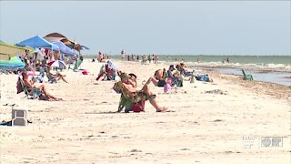Red tide hitting local beaches