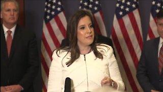 Elise Stefanik Speaks After Elected To Replace Liz Cheney