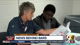 Woman creates newspaper to help inmates with resources