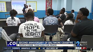 Second anniversary of Baltimore ceasefire